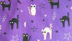 Halloween Cats - Purple