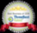 Cocoon Hair Award Badge