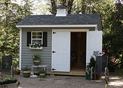 Storage Shed for gardening supplies in Framingham MA