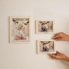 pack culibilla- marco de mader con fotos