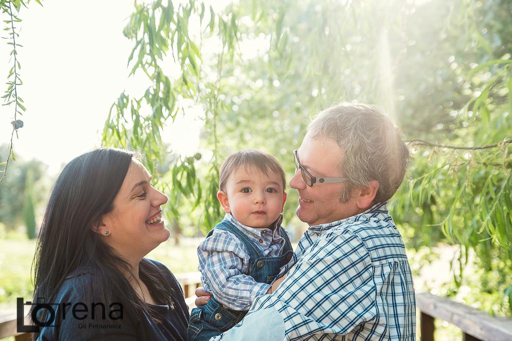 sesion de fotos familia Zaragoza