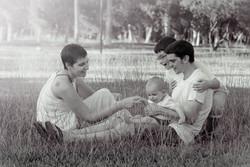 fotografo infantil familia huesca
