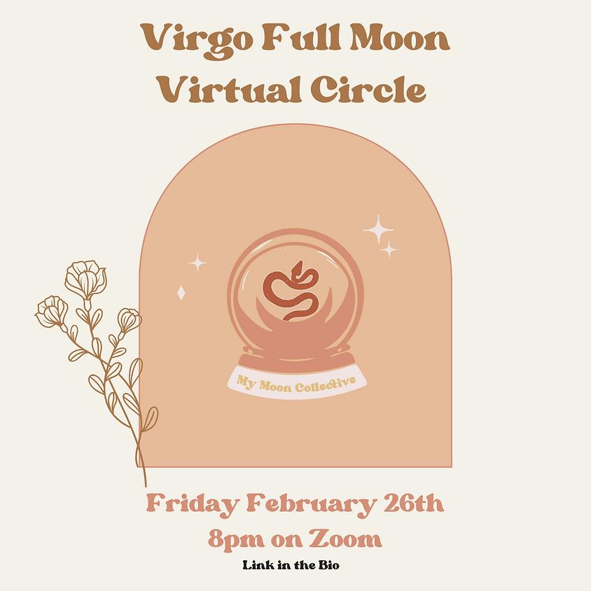 Virgo Full Moon Virtual Gathering