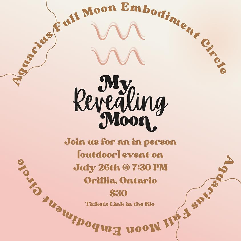 Aquarius Full Moon Embodiment Gathering