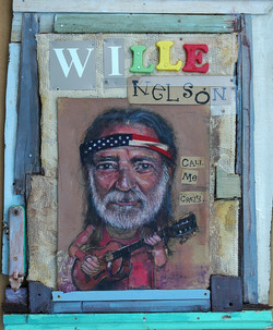 Willie Nelson Call Me Crazy construction