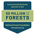 National Forest Foundation small business partner badge