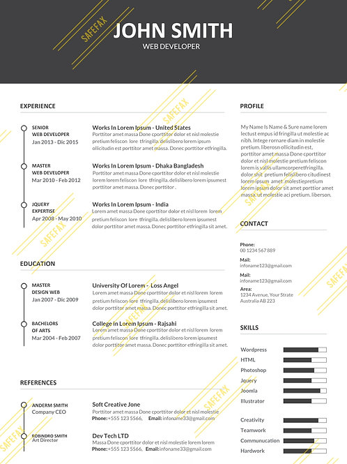 Resume 6