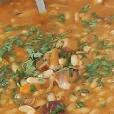 CuttleFish Bean Stew