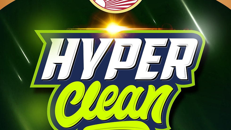 Hyper Clean Special 15% OFF!