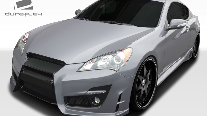 2010-2012 Hyundai Genesis Coupe 2DR Duraflex TP-R Body Kit - 6 Piece