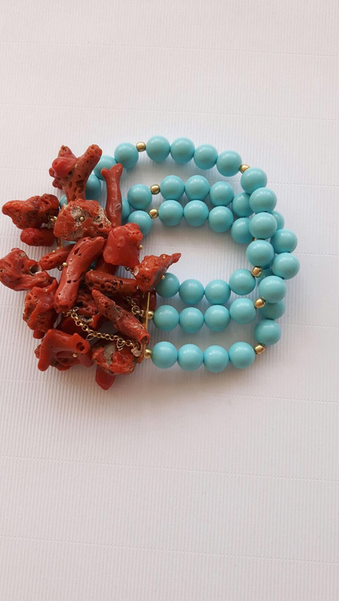 bracciale corallo