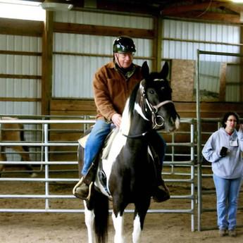 Rodger Morrison Riding Belle