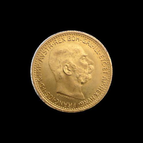 10 Gold Kronen Österreich (mit ZERTIFIKAT)