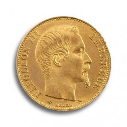 Frankreich 20 FRANCS Goldmünze (mit ZERTIFIKAT)