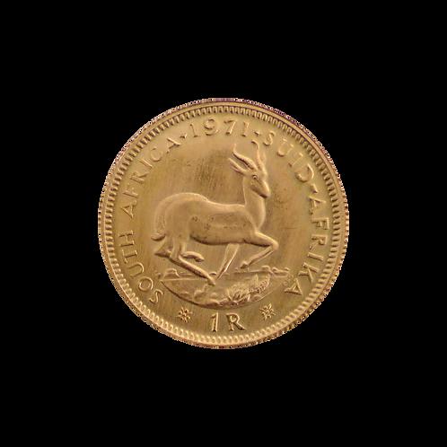 1 Rand Goldmünze (mit ZERTIFIKAT)