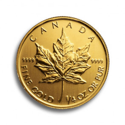 Maple Leaf 1/4 oz Goldmünze (mit ZERTIFIKAT)