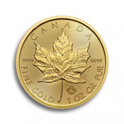 Maple Leaf 1 oz Goldmünze (mit ZERTIFIKAT)