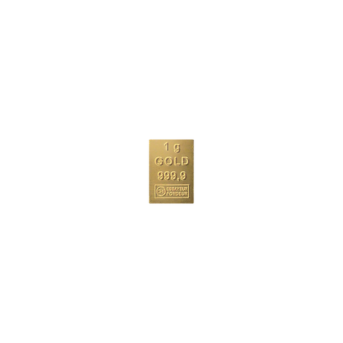 Goldbarren 1 g