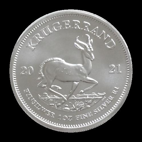 Krügerrand 1 oz Silbermünze