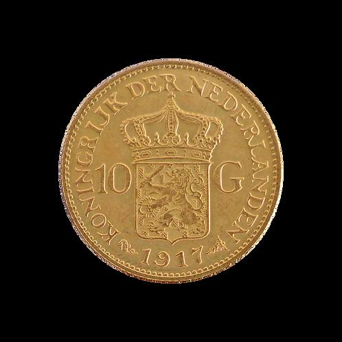 10 Gulden Niederlande (mit ZERTIFIKAT)