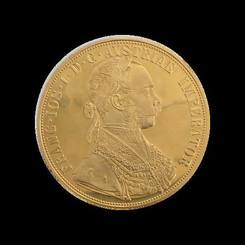 Dukaten Goldmünze 4 Dukat (mit ZERTIFIKAT)