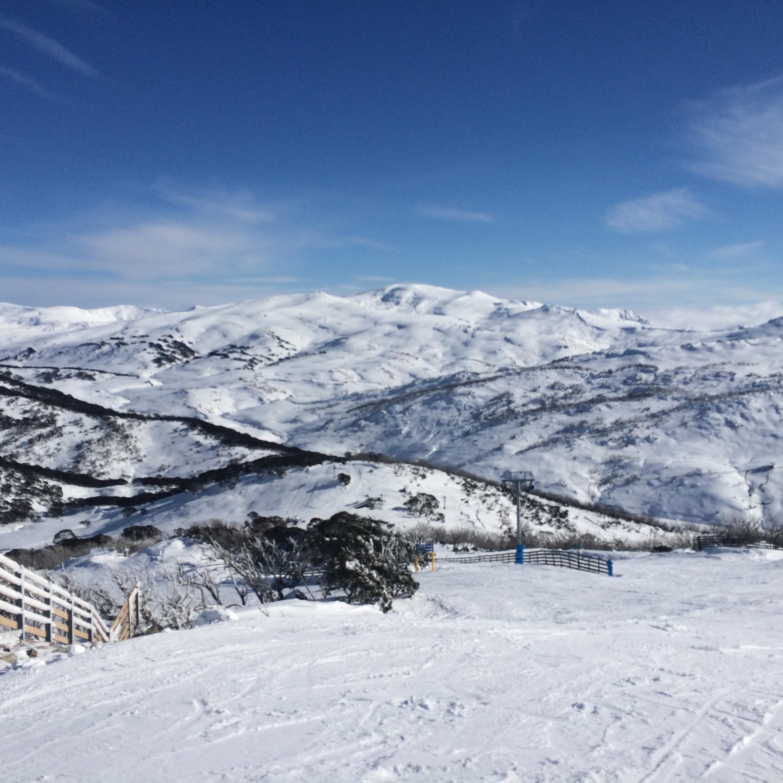 View out to Mount Kosciuszko