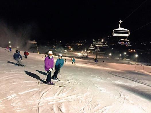 Night Skiing July 2015