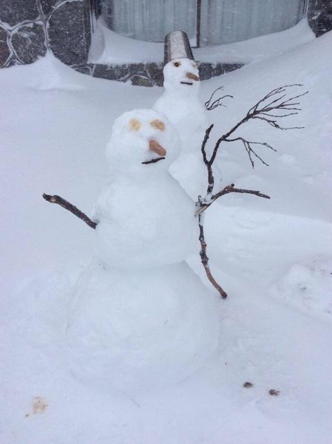 Let's build a snow man
