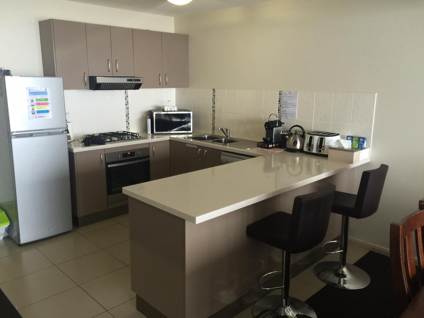 Mountain View Chalet Kitchen