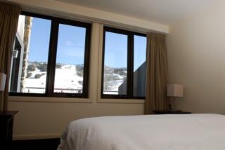 luxury ski chalet best bed view