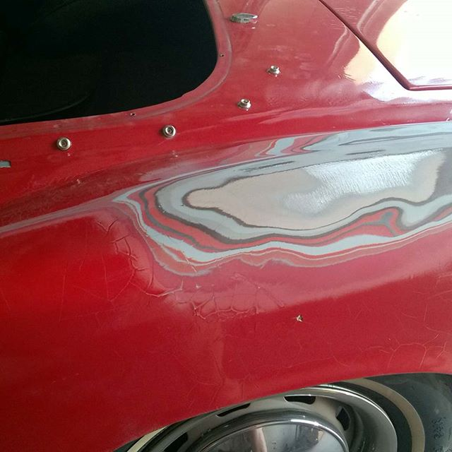 QUIZ_ How many coats of paint and primer can you put over old bondo before you see cracks like this_