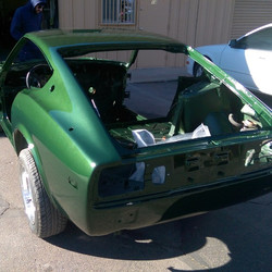 Did you see the _Datsun Racing Green_ out in the sun yet_  Super dark green in the shade (like the t