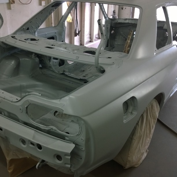 No, Virginia, that's not primer.  That's basecoat..