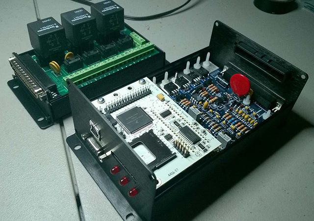 I've been building Patrick's MegaSquirt 3 ECU and relay board