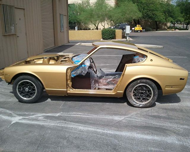 Wow... It was 5 years ago that my little 260Z became _Goldie_! Time flies
