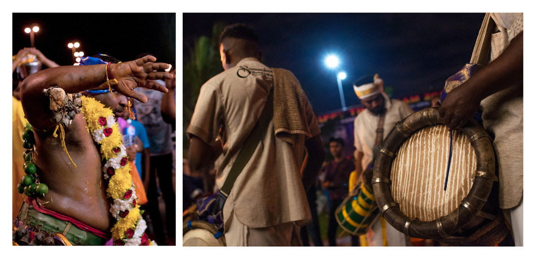 Kavadi and Musicians