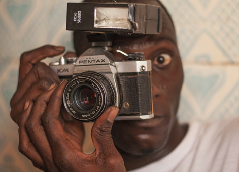 A Senegalese photographer