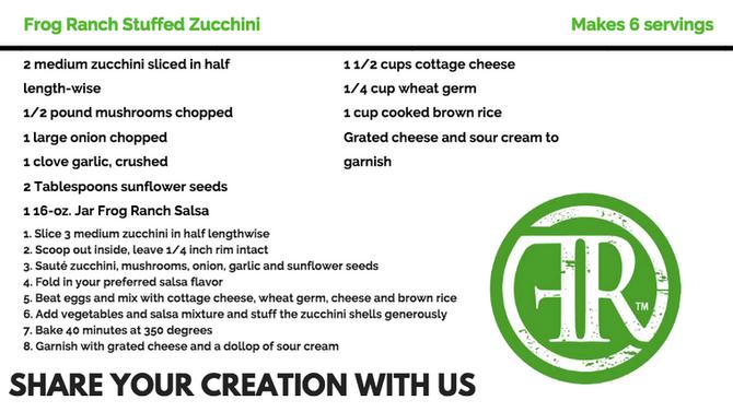 Our Ranch's Stuffed Zucchini Recipe
