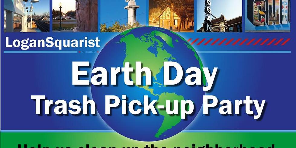 Logansquarist Earth Day Trash Pickup Party