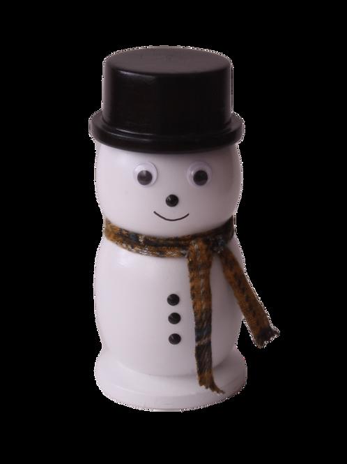 Bonhomme de neige en bois  NO: J6