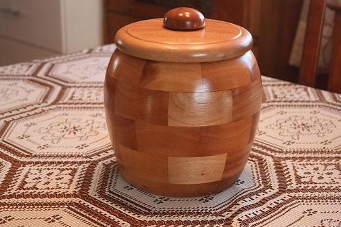 Urne en bois de sapelli NO: 1