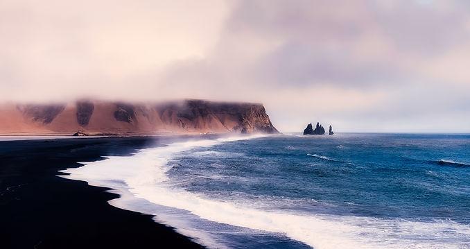 black sand beach dyrholaey your iceland.