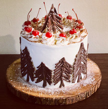 A Literal Take on a Black Forest Cake.