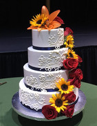 Do it! I got married in September 2016, and Rebekah sat down with me, listened to my ideas about what my dream cake would look like, and she sketched it out in front of me. She was able to work with me on everything! Size, look, decoration, flavor, and even filling! I had the best cake I could imagine, and all of my guests at the wedding complimented us on not just the beauty of the cake, but also the unbelievable moistness and richness of flavor. The buttercream icing was perfection! I highly recommend Sweet April Cakes for the most important cake of your life!  -Grace P.