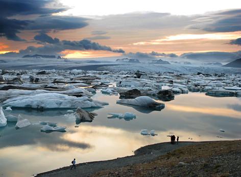 Lago glacial de Jökulsárlón - Islândia