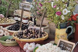 Olive, marché, provence, france, olivier, huile d'olive, nourriture, local, nature