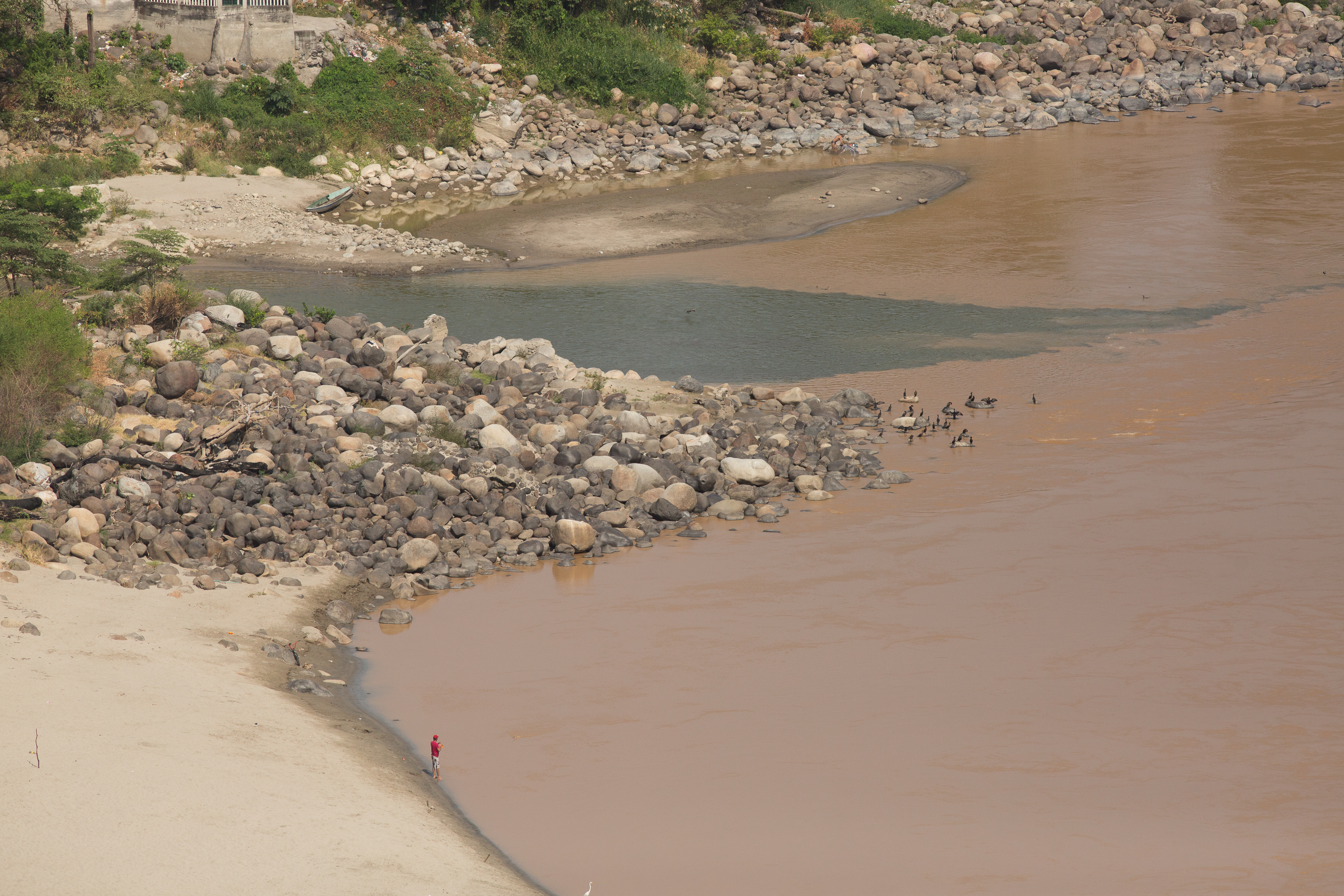 Playa del Río Magdalena, Honda, Tolima
