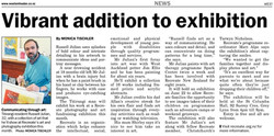 Russell Photography and Art Exhibition Western Leader article June 2013