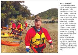 Southern View - Seeking Summits Sea Kayaking Expedition April 2014