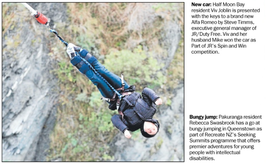 Seeking Summits Queenstown Bungy July 2014